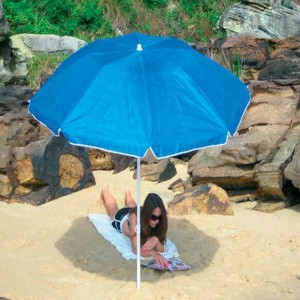 Foldabrella folding beach umbrella