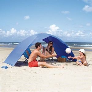 skincom beachtent easy for 2 blue
